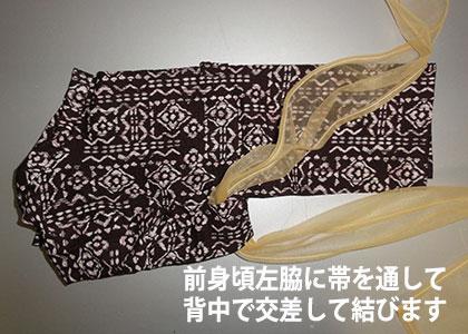 浴衣の帯結び1